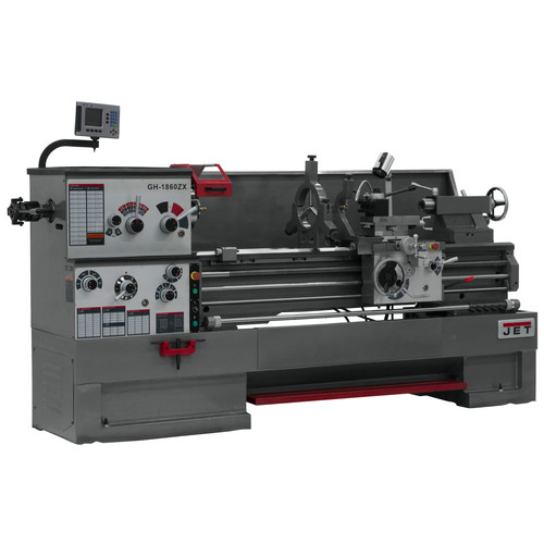 JET GH-2280ZX Lathe with 300S DRO and Taper Attachment
