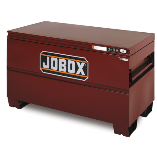 JOBOX 1-654990 48 in. Long Heavy-Duty Steel Chest with Site-Vault Security System image number 0