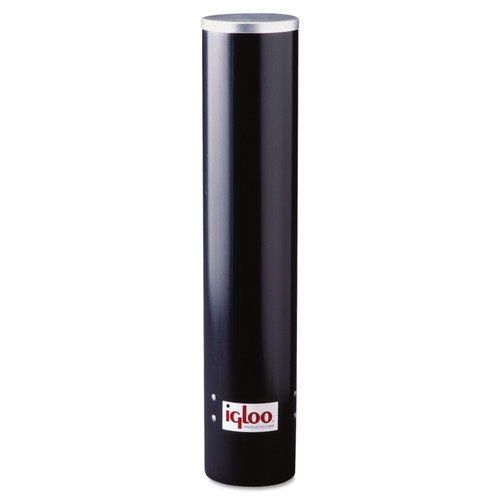 Igloo 9534 Cup Dispenser, 7oz, Black Plastic