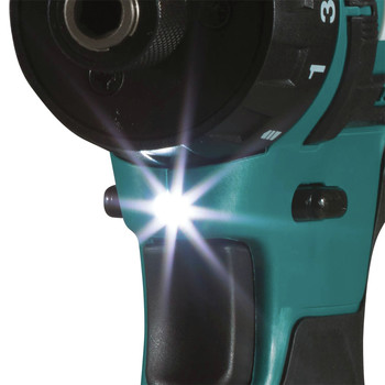 Makita FD10Z 12V max CXT Lithium-Ion Hex Brushless 1/4 in. Cordless Drill Driver (Tool Only) image number 2