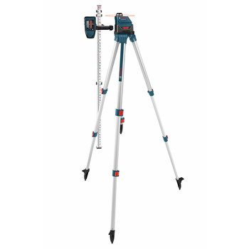 Bosch GLL-150-ECK Self-Leveling 360 Degree 500 ft. LR3 Exterior Laser Kit image number 2