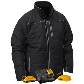 Dewalt DCHJ075D1-2X 20V MAX Li-Ion Quilted/Heated Jacket Kit - 2XL