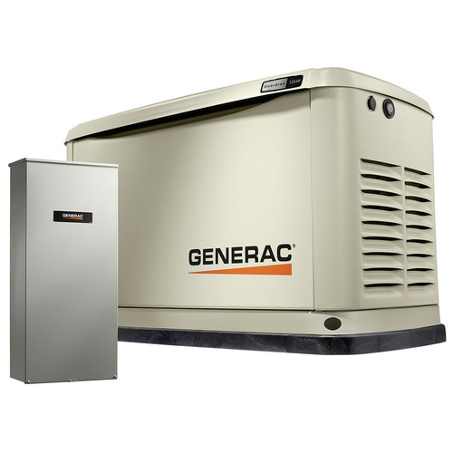 Generac 7174 Guardian 13kW Home Backup Generator with 16-Circuit Transfer Switch (WiFi-Enabled) image number 0
