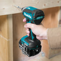 Makita XDT131 18V LXT Brushless Lithium-Ion 1/4 in. Cordless Impact Driver Kit (3 Ah) image number 4