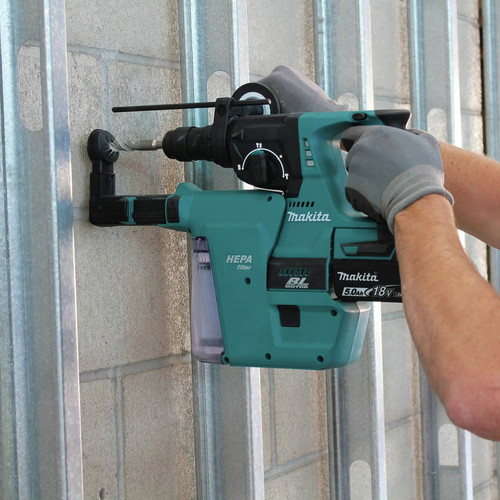 Makita XRH011TX 18V LXT Cordless Lithium-Ion 1 in. Rotary Hammer Kit image number 6