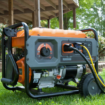 Factory Reconditioned Generac 6672R 5,500 Watt Portable Generator with Cord image number 5