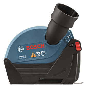 Bosch GA50UC 5 in. Small Angle Grinder Dust Collection Attachment image number 0