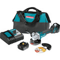 Makita XAG04T 18V LXT Lithium-Ion Brushless Cordless 4-1/2 in. / 5 in. Cut-Off/Angle Grinder Kit (5.0Ah)