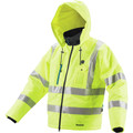 Makita DCJ206ZXL 18V LXT Lithium-Ion Cordless High Visibility Heated Jacket (Bare Tool) - X-Large