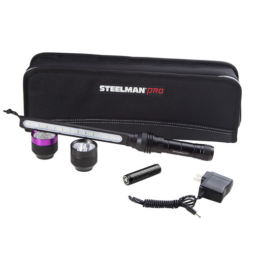 Steelman 78708 Lithium-Ion Reachargable All-in-One LED Light Kit