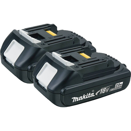 Makita BL1820-2 18V LXT 2.0 Ah Lithium-Ion Battery 2-Pack