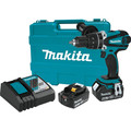 Makita XFD03M 18V LXT Lithium-Ion 1/2 in. Cordless Drill Driver Kit (4 Ah) image number 0