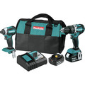 Makita XT269T 18V LXT Lithium-Ion 5.0 Ah Brushless 2-Piece Combo Kit image number 0