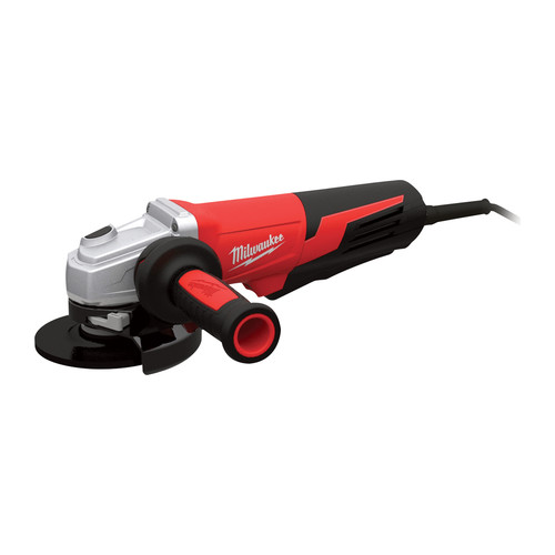 Milwaukee 6117-30 5 in. 13 Amp Paddle Switch Small Angle Grinder with Lock-On Button