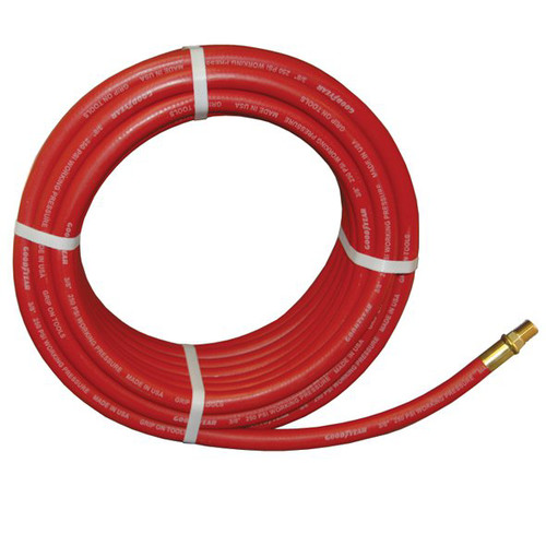 ATD 8151 GoodYear 3/8 in. x 50 ft. Two-Braid Rubber Air Hose image number 0