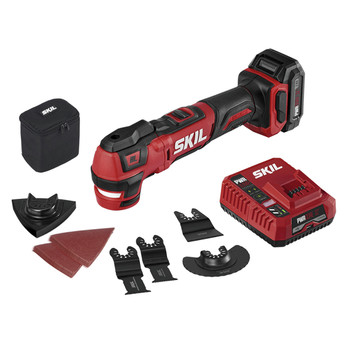 Skil OS592702 PWRCore 12 12V Brushless Lithium-Ion Oscillating Cordless Multi-Tool Kit (2 Ah)