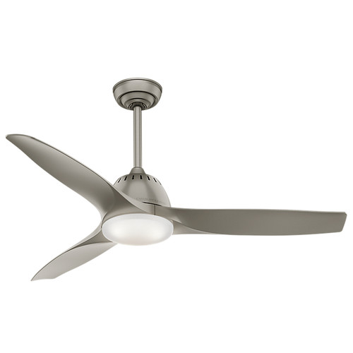Casablanca 59152 Wisp 52 in. Pewter Indoor Ceiling Fan with Light and Remote