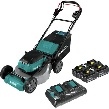 Makita XML06PT1 18V X2 (36V) LXT Lithium-Ion Brushless Cordless 18 in. Self-Propelled Commercial Lawn Mower Kit with 4 Batteries (5.0Ah)