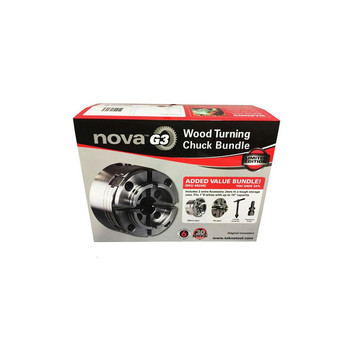 NOVA 48246 G3 Lathe Chuck 30th Anniversary Bundle with case image number 2