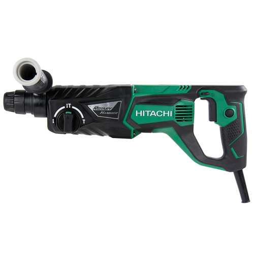 Hitachi DH26PF 7.5 Amp 1 in. SDS Plus 3-Mode D-Handle Rotary Hammer