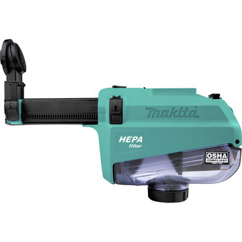 Makita DX05 Dust Extractor Attachment with HEPA Filter for XRH12
