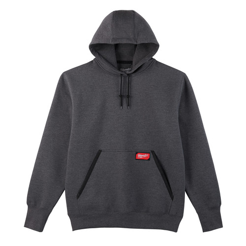 Milwaukee 350G-S Heavy Duty Pullover Hoodie - Gray, Small image number 0
