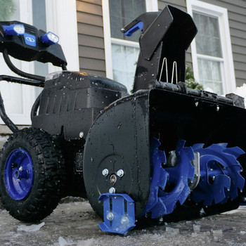 Snow Joe ION8024-XR 80V 24 in. Li-Ion 2-Stage 4-Speed Snow Blower with (2) 5.0 Ah Batteries image number 6