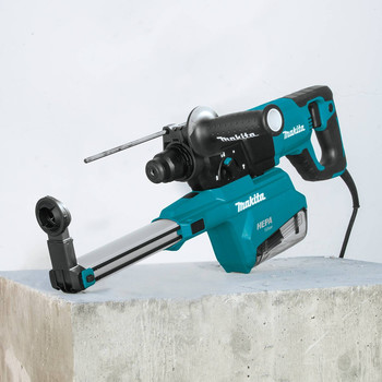 Makita HR2661 7 Amp 1 in. D-Handle Rotary Hammer with HEPA Extractor image number 5