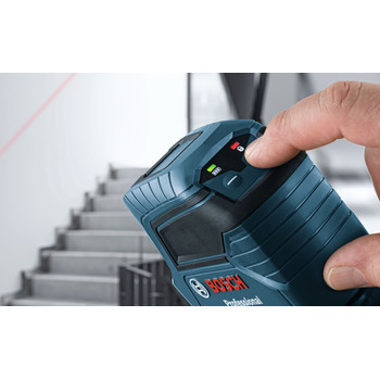 Bosch GLL100G Green Beam Self-Leveling Cross Line Laser image number 3