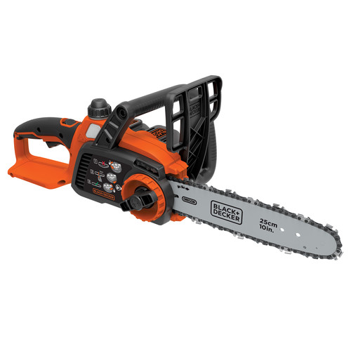 Factory Reconditioned Black & Decker LCS1020R 20V MAX 2.0 Ah Cordless Lithium-Ion 10 in. Chainsaw image number 0