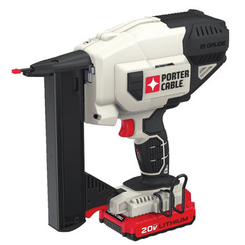 Porter-Cable PCC791LA 20V MAX Lithium-Ion 18 Gauge Narrow Crown Stapler Kit