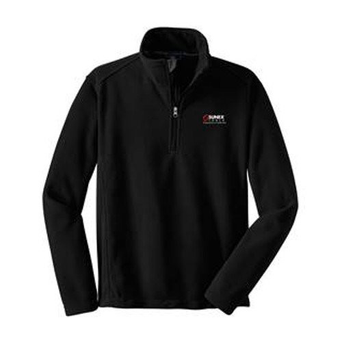 Sunex 15-FLST Half-Zip Fleece Sweatshirt (X-Large) (Black)