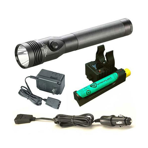 Streamlight Stinger LED HL Rechargeable Flashlight 120//DC PiggyBack Purple 75482