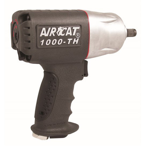 AIRCAT 1000-TH 1/2 in. Twin Hammer Composite Air Impact Wrench image number 0