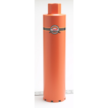 MK Diamond 156363 MK Orange 6 in. Premium Grade Core Bit for Concrete & Asphalt