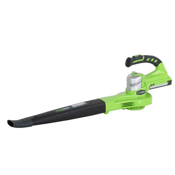Greenworks 2400202 24V Cordless Lithium-Ion Two Speed Handheld Blower (Tool Only) image number 0