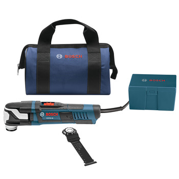 Factory Reconditioned Bosch GOP55-36B-RT 5.5 Amp StarlockMax Oscillating Multi-Tool Kit with Accessory Box image number 0