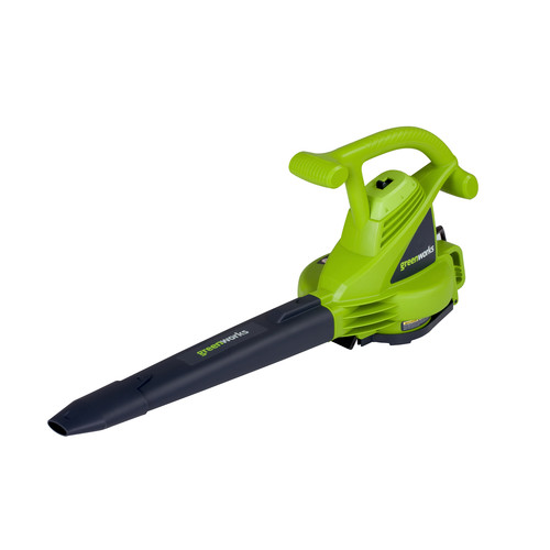 Greenworks 24072 12 Amp Variable Speed Electric Mulcher Blower Vac