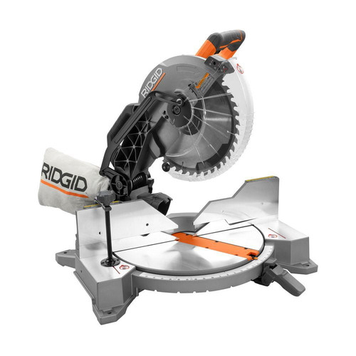 Factory Reconditioned Ridgid ZRR4122 12 in. Dual Bevel Compound Miter Saw with Laserguide image number 0