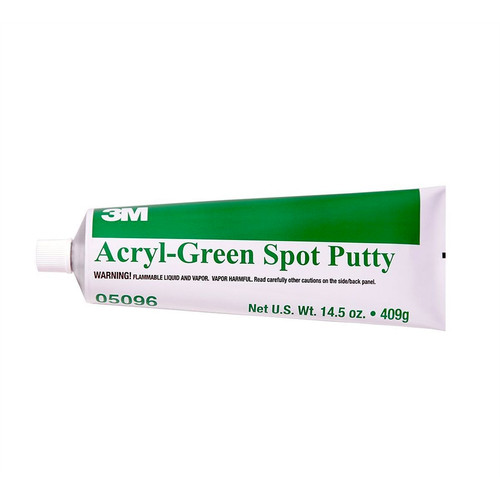 3M 5096 Acryl 14.5 oz. Spot Putty - Green image number 0