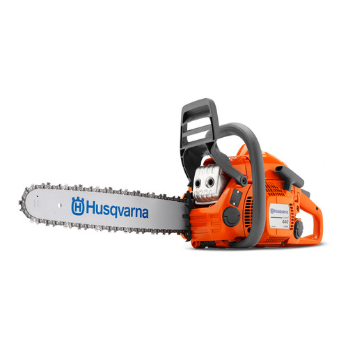 Husqvarna 440E 16 in./ 40.9cc Assembled Tool-Less Gas-Powered Chainsaw image number 0