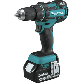 Factory Reconditioned Makita XFD061-R 18V LXT Lithium-Ion Brushless Compact 1/2 in. Cordless Drill Driver Kit (3 Ah) image number 1