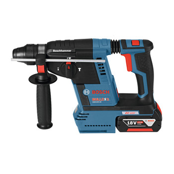 Factory Reconditioned Bosch GBH18V-26K-RT 18V 6.0 Ah EC Cordless Lithium-Ion Brushless 1 in. SDS-Plus Bulldog Rotary Hammer Kit image number 2