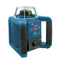 Factory Reconditioned Bosch GRL300HVG-RT Self-Leveling Rotary Laser with Green Beam Technology