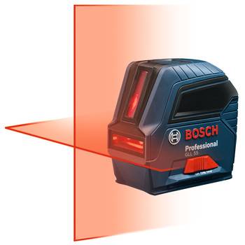 Factory Reconditioned Bosch GLL55-RT Professional Self-Leveling Cross-Line Laser image number 1