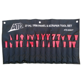 ATD 85827 27-Piece Trim Panel and Scraper Set
