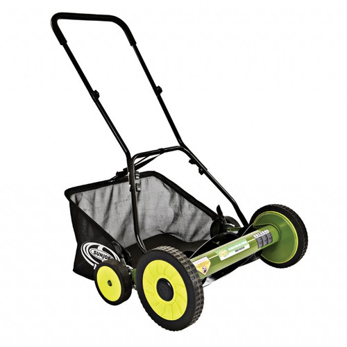 Sun Joe MJ502M Mow Joe 20 in. Manual Reel Mower with Grass Catcher