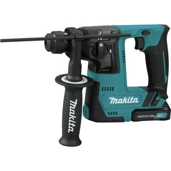 Makita RH02R1 12V max CXT Lithium-Ion 9/16 in. Rotary Hammer Kit, accepts SDS-PLUS bits (2.0Ah) image number 1