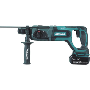Makita XRH04T 18V LXT Cordless Lithium-Ion SDS-Plus 7/18 in. Rotary Hammer Kit image number 1