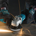 Makita 9564P 4-1/2 in. 10 Amp Paddle Switch AC/DC Angle Grinder image number 4